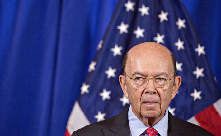 Secretarul american al comerţului, Wilbur Ross