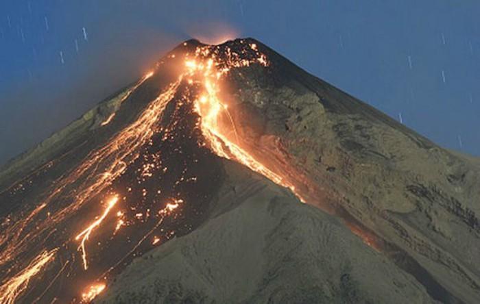 Vulcanul Fuego, Guatemala