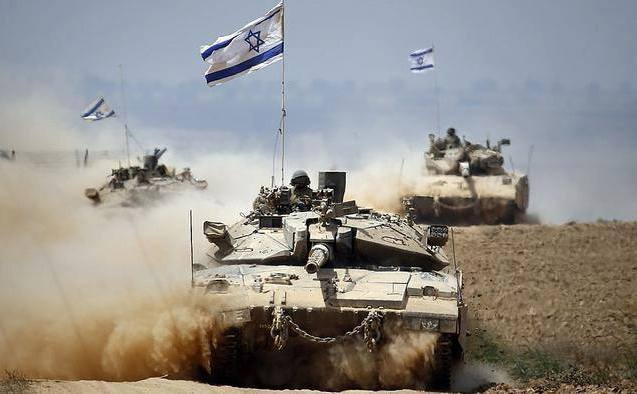 Tancuri ale armatei israeliene