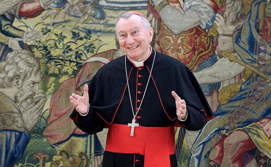 Cardinalul Pietro Parolin, secretar de stat al Vaticanului