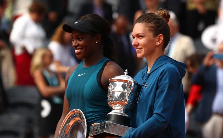 Finalistele ediţiei 2018 a turneului de Mare Şlem de la Roland Garros - Simona Halep şi Sloane Stephens (SUA).