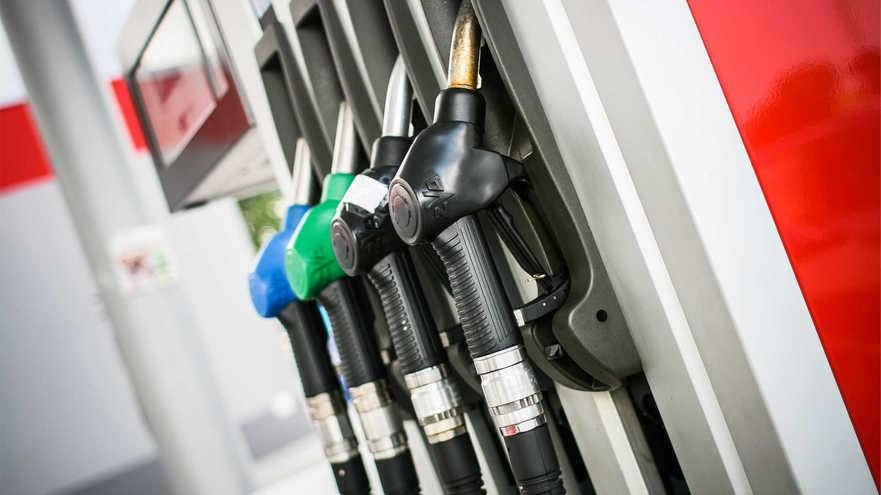 Staţie pompă de benzină