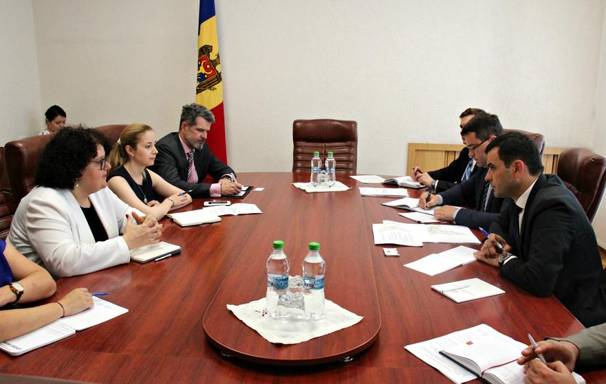 Delegaţia Republicii Moldova şi Băncii Mondiale la Chişinău