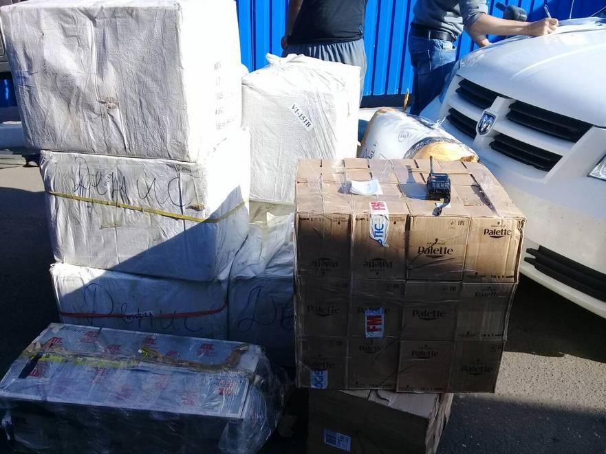 Mărfuri confiscate la Vama Republicii Moldova