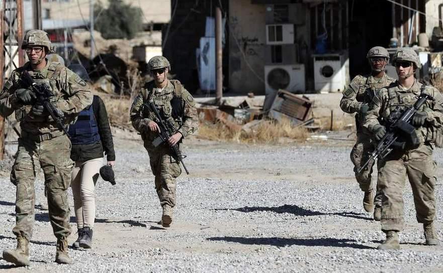 Soldaţi americani în nordul Siriei