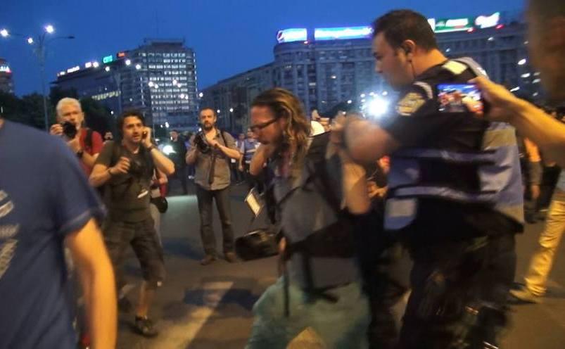Jurnalist german arestat de jandarmi