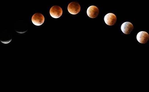 Ultima eclipsa totala de Luna a avut loc in anul 2015.