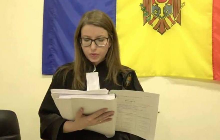 Magistrata Rodica Berdilo de la Judecătoria Chişinău (sediul Centru)