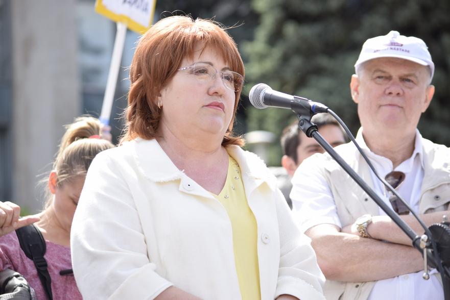 Domnica Manole, fost judecător la Curtea de Apel Chişinău