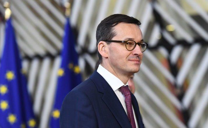 Premierul polonez Mateusz Morawiecki