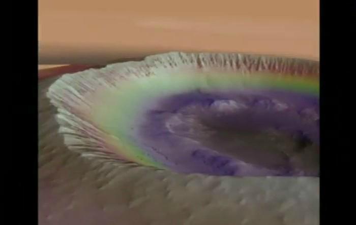 Imagine capturată pe Marte