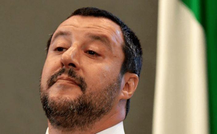 Ministrul italian de interne Matteo Salvini