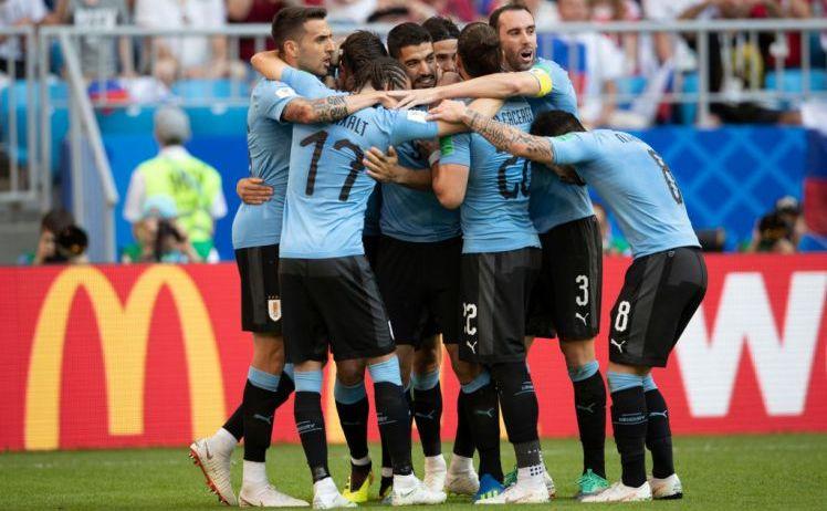 Franţa - Uruguay  2-0 (1-0), în primul sfert de finală al CM 2018 din Rusia.