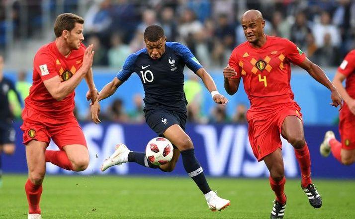 Selecţionata Franţei a învins Belgia cu scorul de 1-0   (0-0), marţi seara, la Sankt Petersburg, în prima semifinală a CM 2018.