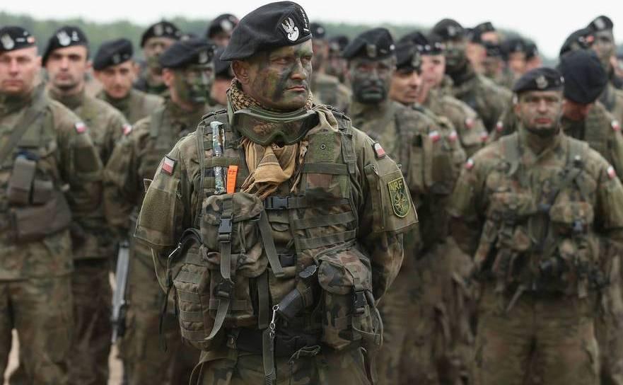 Soldaţi polonezi din trupele NATO
