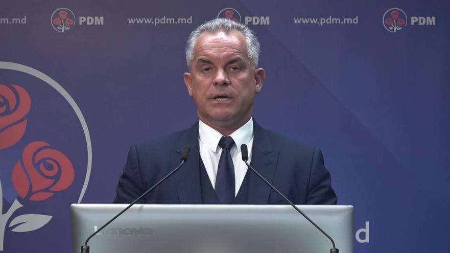 Vlad Plahotniuc, liderul PD