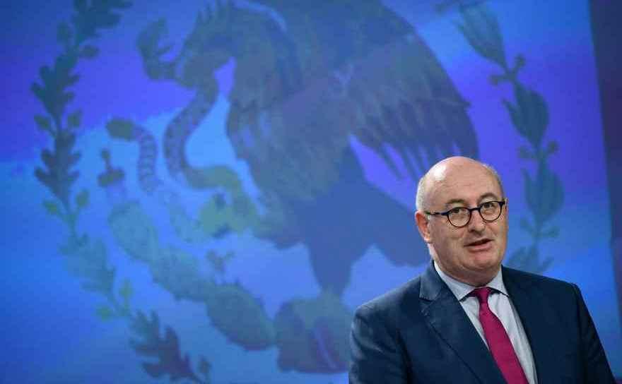 Comisarul european pentru agricultură şi dezvoltare rurală, Phil Hogan