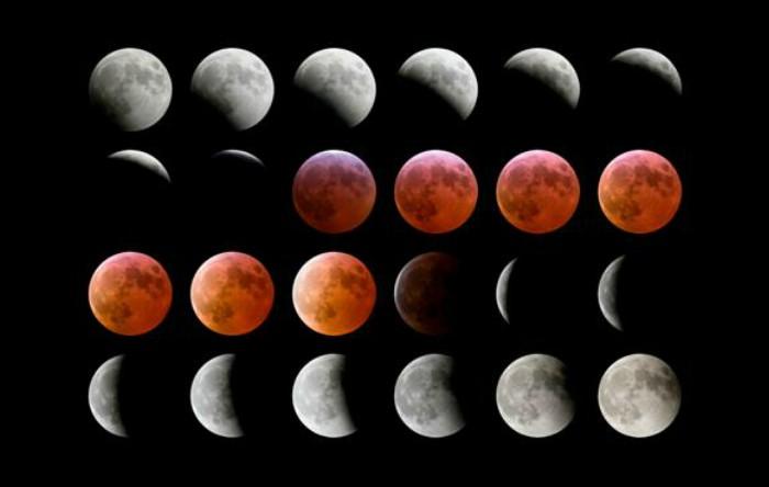 Eclipsă de Lună Roşie