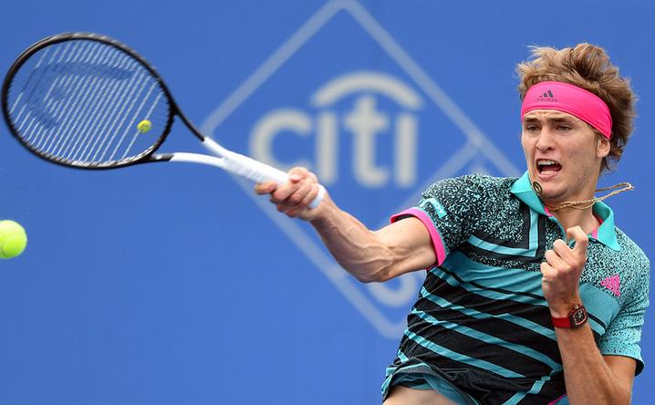 Jucătorul german de tenis Alexander Zverev.