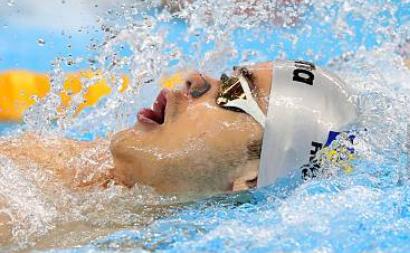 Înotătorul român Robert-Andrei Glinţă.