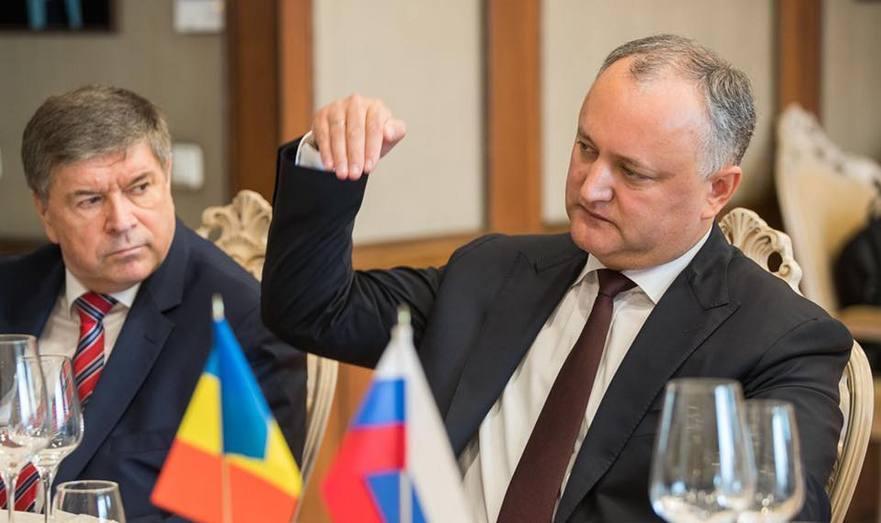 Igor Dodon, preşedintele R. Moldova