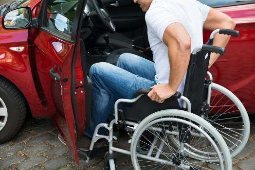 Persoană cu dizabilităţi locomotorii