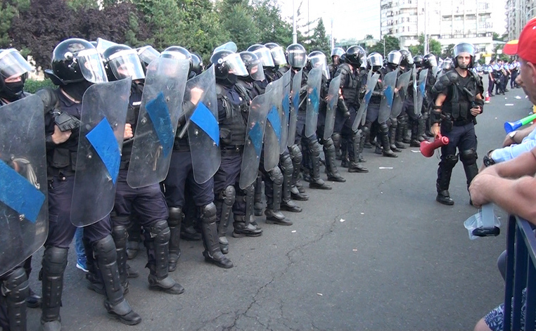 Protest Piaţa Victoriei