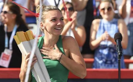 Simona Halep - campioana ediţiei 2018 a turneului WTA de la Montreal.