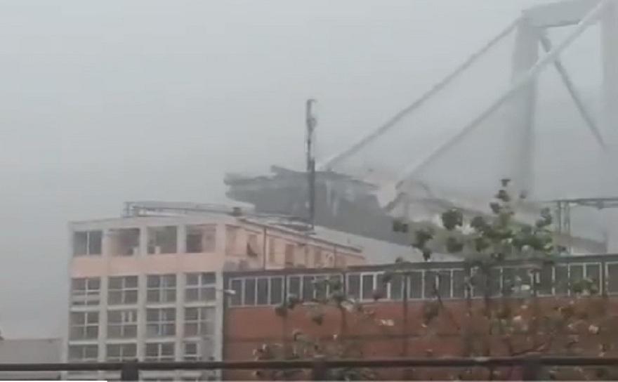 In cursul acestei dimineti, parte din podul Morandi, de pe autostrada A10, din Genova s-a prabusit. provocand moartea a cel putin 10 persoane.