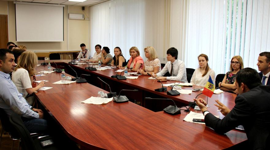 Discuţii dintre Chiril Gaburici şi reprezentanţii mediului de afaceri din R. Moldova