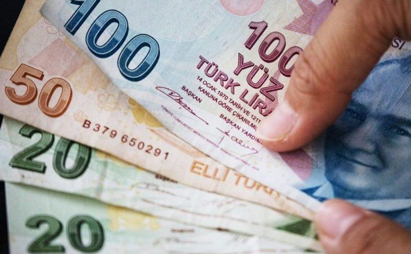 Bancnote de 100, 50 si 20 lire turceşti