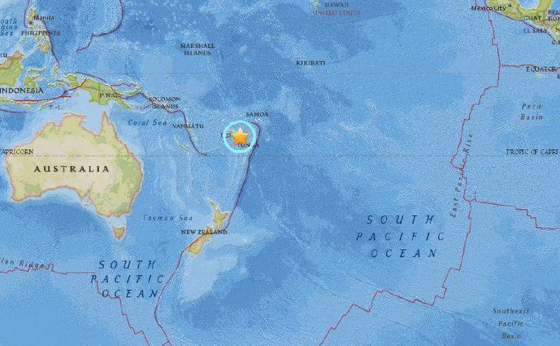 Cutremur de 8,2 loveşte în apropiere de Fiji si Tonga, 19 august 2018