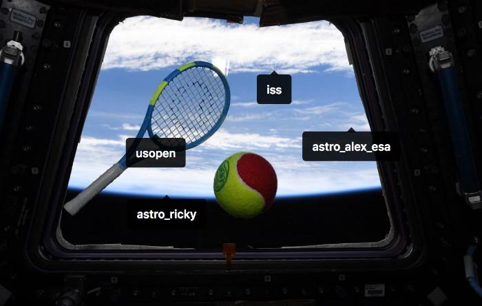 Tenis în spaţiu