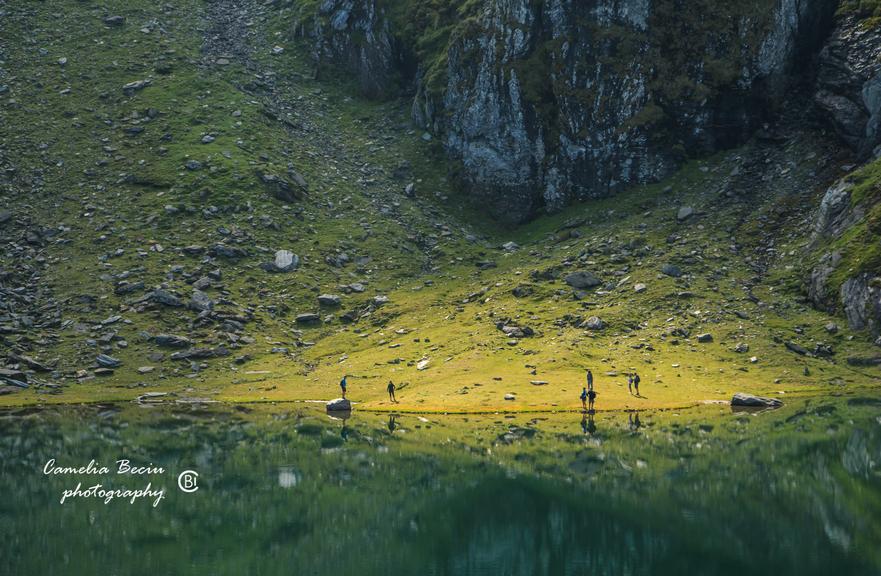 Lacul Bâlea.