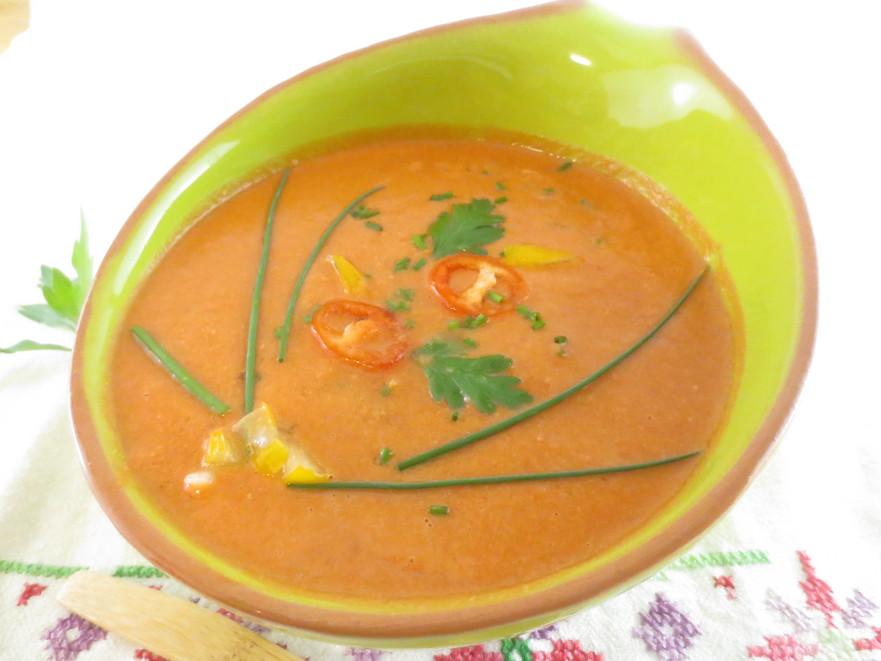 Gazpacho - o supă rece