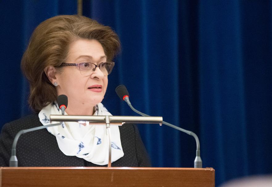 Cristina Tarcea (Presedintele ICCJ),