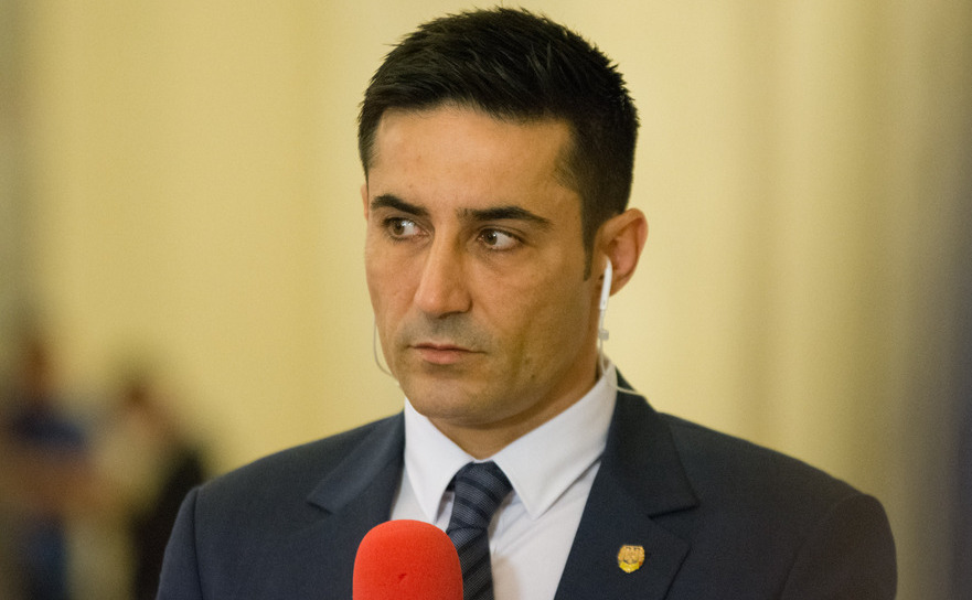 Claudiu Manda (Presedintele Comisiei de control a activitatii SRI),