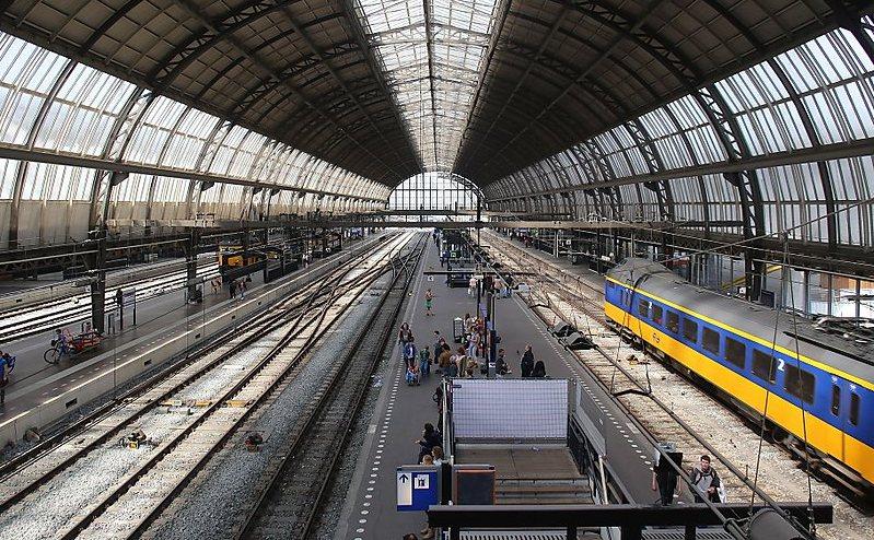 Gara Centrală din Amsterdam, Olanda