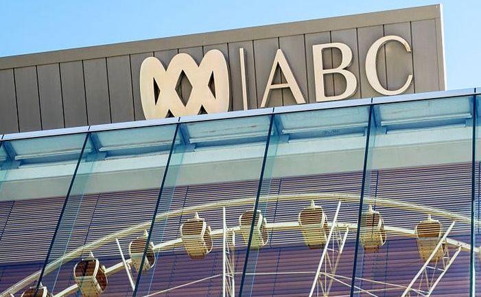 Logo-ul reţelei de televiziune Australian Broadcasting Corporation (ABC)