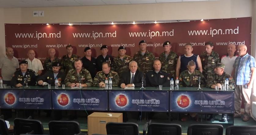 Conferinţa veteranilor războiului de pe Nistru