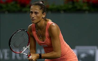 Jucătoarea română de tenis Alexandra Cadanţu.