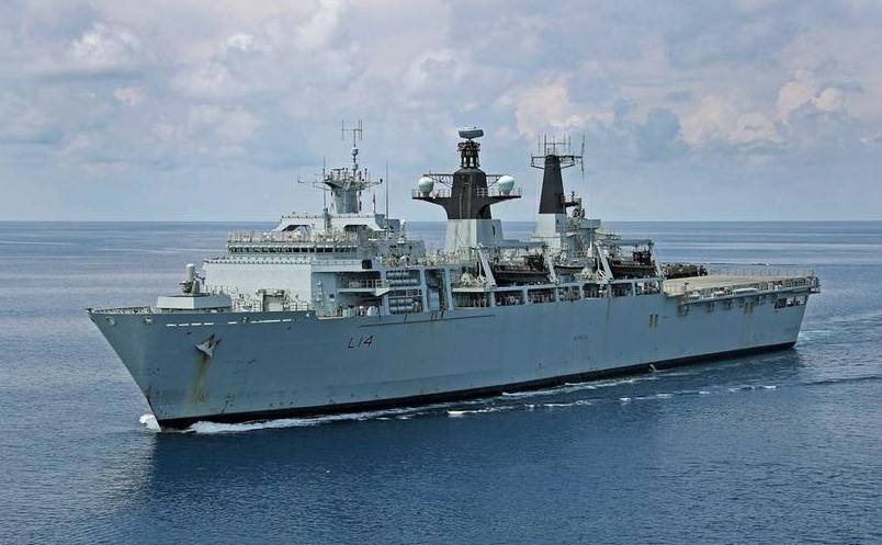 HMS Albion, o navă de luptă britanică