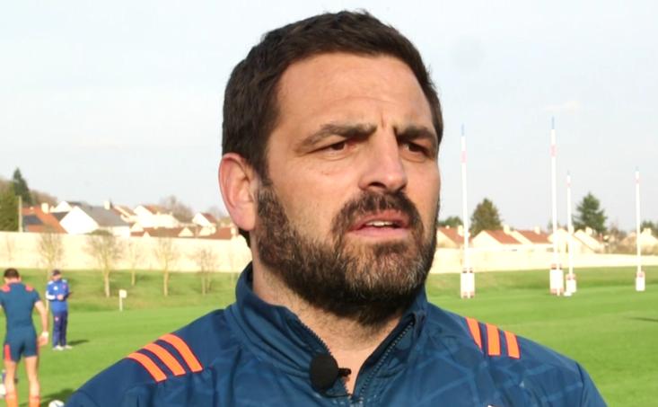 Noul selecţioner al echipei de rugby a României, Thomas Lievremont.