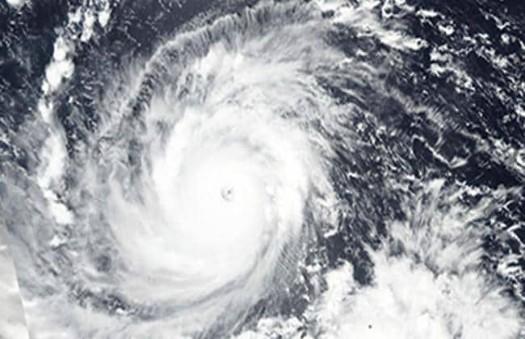 Imagine NASA a super-taifunului Mangkhut capturată miercuri deasupra Filipinelor