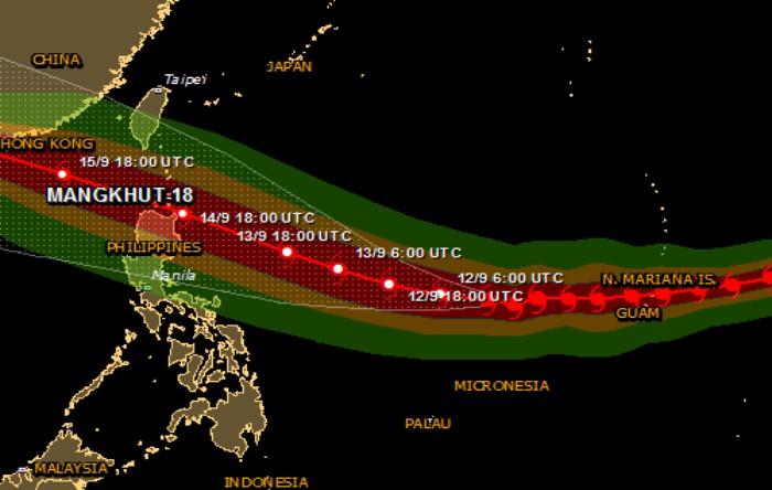 Taifunul Mangkhut
