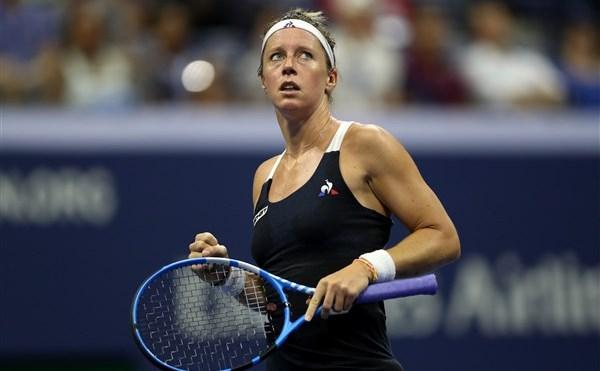 Jucătoarea franceză de tenis Pauline Parmentier.