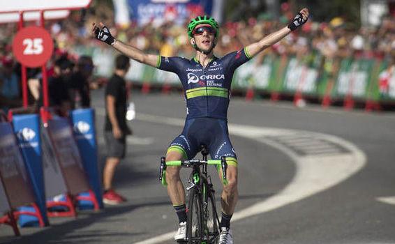 Ciclistul britanic Simon Yates.
