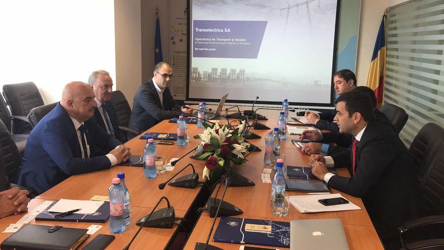 Discutii dintre delegaţia moldovenească şi conducerea Transelectrica