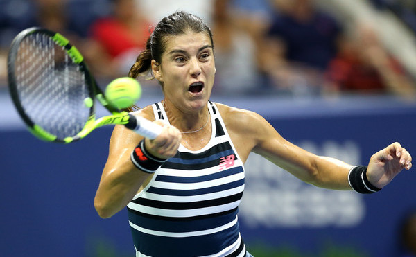 Jucătoarea română de tenis Sorana Cîrstea.