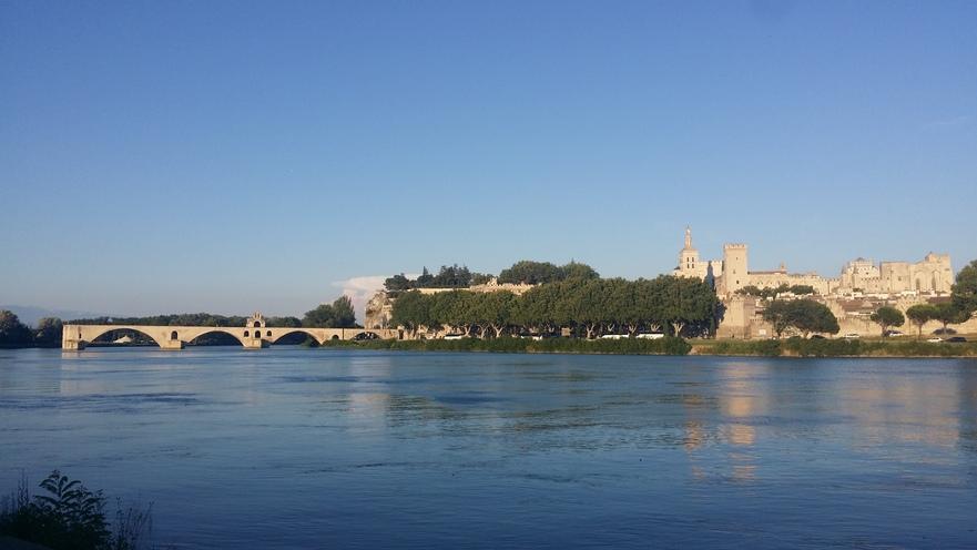 Avignon, Franţa.